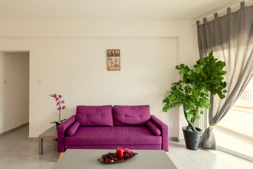TWO BEDROOM APARTMENT IN THE CENTER OF LARNAKA