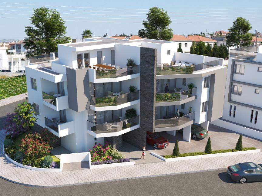 FOR SALE ONE  BEDROOM APARTMENT IN ARADIPPOU / LARNACA