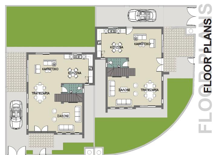 FOUR BEDROOM LUXURY VILLAS IN LIVADHIA/LARNACA