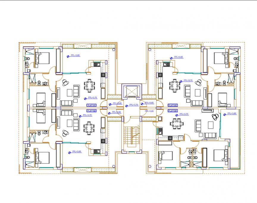 TWO  BEDROOM APARTMENT IN LARNACA (GSZ STADIUM)
